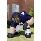Inflatable Images Baltimore Ravens NFL Inflatable Bubba Player Lawn Figure