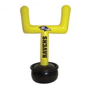 Scottish Christmas Baltimore Ravens NFL Inflatable Goal Post