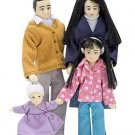 Melissa and Doug Victorian Doll Family (Asian)