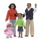 Melissa and Doug Victorian Doll Family (Black)