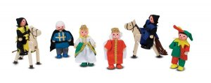 Melissa and Doug Castle Dolls Play Set Pretend Play