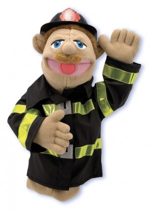 Melissa and Doug Firefighter Puppet