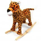 HAPPY TRAILS™ Plush Cheetah Rocking Animal