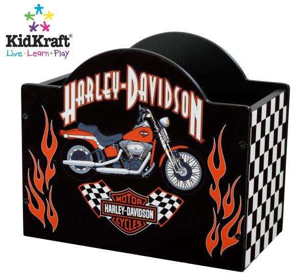 KidKraft Harley-Davidson Checker Novelty Box