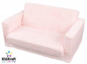 KidKraft Lil Lounger Pink Chenille