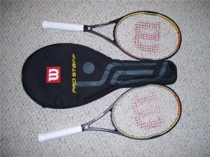 Wilson Tour 90's - Matched Pair - Federer Collectibles