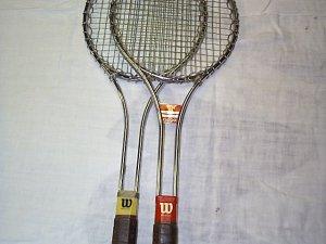 Used Wilson T2000 or T3000 metal tennis racket