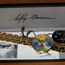 Vintage Collectors Mens Leroy Neiman Artist Tennis Watch