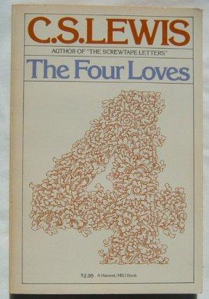 C S Lewis THE FOUR LOVES HBJ PB Book Christian