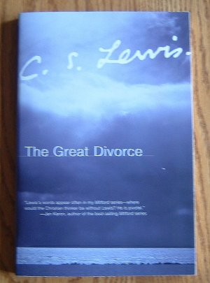 C. S. Lewis THE GREAT DIVORCE Book Like New