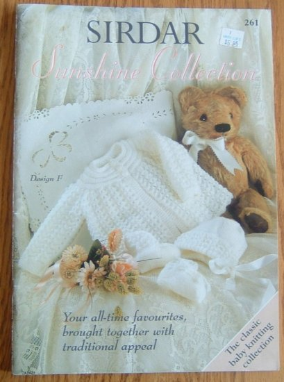 SIRDAR Layette Collection Knitting Pattern Book Knit