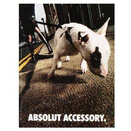 ABSOLUT ACCESSORY Vodka Magazine Ad