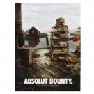 ABSOLUT BOUNTY Vodka Magazine Ad