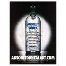 ABSOLUTDIGITALART.COM Vodka Magazine Ad CURSOR
