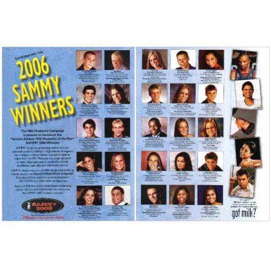 2006 SAMMY WINNERS got milk? Milk Mustache 2-Page Magazine Ad