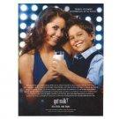 BARBARA MORI Y SUS HIJO SERGIO got milk? Milk Mustache Magazine Ad © 2007 SPANISH TEXT