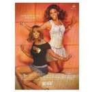 BEYONCÉ AND SOLANGE KNOWLES got milk? Milk Mustache Magazine Ad © 2007