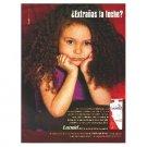 ¿Extrañas la leche? (miss milk?) got milk? Milk Mustache Magazine Ad © 2002 SPANISH TEXT