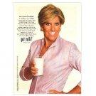 SUZE ORMAN got milk? Milk Mustache Magazine Ad © 2008