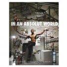 IN AN ABSOLUT WORLD Vodka Magazine Ad QUARTET MACHINE