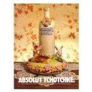 ABSOLUT TCHOTCHKE Vodka Magazine Ad
