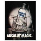 ABSOLUT MAGIC Vodka Magazine Ad