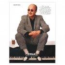 PAUL SHAFFER Milk Mustache Magazine Ad © 1997