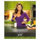 INGRID HOFFMAN got milk? Milk Mustache Magazine Ad © 2009 ENGLISH TEXT