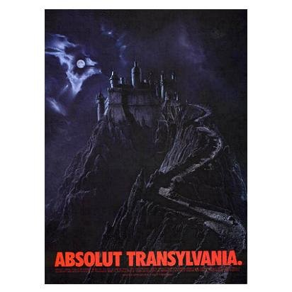 ABSOLUT TRANSYLVANIA Vodka Magazine Ad