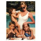 MELANIE GRIFFITH & KIDS got milk? Milk Mustache Magazine Ad © 1999