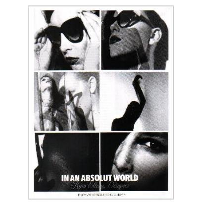 IN AN ABSOLUT WORLD Kym Ellery Designer Absolut Vodka Magazine Ad + Article 2pp