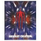 ABSOLUT CREATION Vodka Magazine Ad