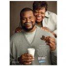 SHAQUILLE O'NEAL got milk? Milk Mustache Magazine Ad © 2011
