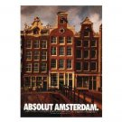 ABSOLUT AMSTERDAM Vodka Magazine Ad