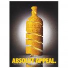 ABSOLUT APPEAL Vodka Magazine Ad