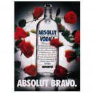 ABSOLUT BRAVO Vodka Magazine Ad