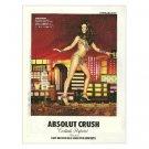 ABSOLUT CRUSH w/ Kate Beckinsale Vodka Magazine Ad