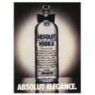 ABSOLUT ELEGANCE Vodka Magazine Ad