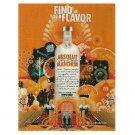 FIND YOUR FLAVOR Absolut Mandrin Vodka Magazine Ad
