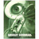 ABSOLUT GOODMAN Vodka Magazine Ad 1997