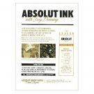 ABSOLUT INK Troy Denning & Complex Magazine Announcement Vodka Ad 2011