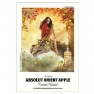 ABSOLUT ORIENT APPLE Vodka Magazine Ad