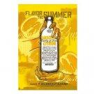 MAKE IT AN ABSOLUT SUMMER Vodka Ad Postcard CITRON