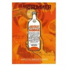 MAKE IT AN ABSOLUT SUMMER Vodka Ad Postcard MANDRIN