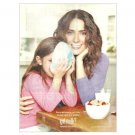 SALMA HAYEK & DAUGHTER got milk? Milk Mustache Magazine Ad SPANISH LANGUAGE