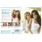 SOFIA VERGARA & MOTHER got milk? Milk Mustache Magazine Ad © 2011 SPANISH TEXT 2pp