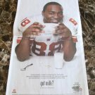 GIANTS HAKEEM NICKS 2012 SUPERBOWL VICTORY got milk? USA Today Newspaper Ad