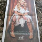 CARRIE UNDERWOOD got milk? Milk Mustache Full-Page USA Today Newspaper Ad 2006