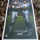 REX GROSSMAN and MARVIN HARRISON Super Bowl XLI got milk? USA Today Newspaper Ad