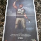 REGGIE BUSH Super Bowl XIV got milk? USA Today Newspaper 2010 Victory Ad
